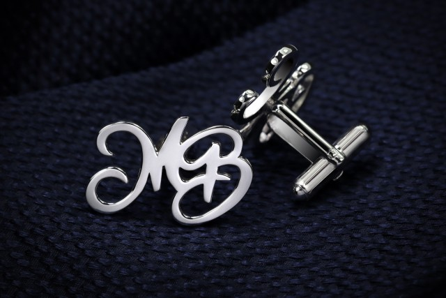 -15% - Double Initials Cufflinks