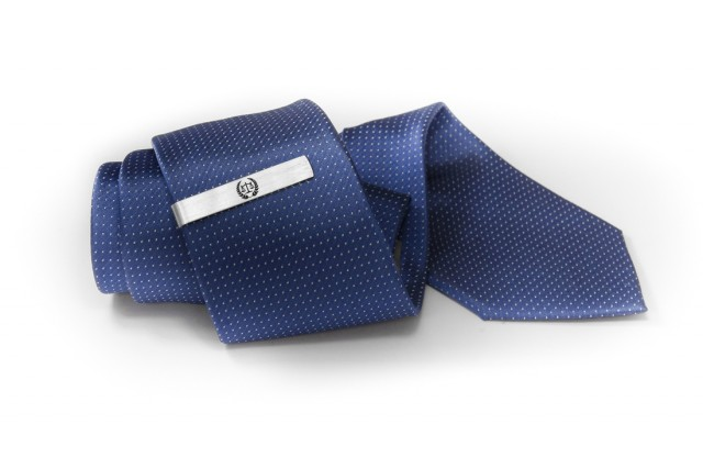 Personalized tie clip for lawer