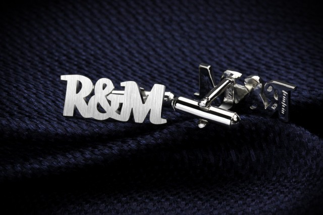 Initials Cufflinks - wedding cufflinks