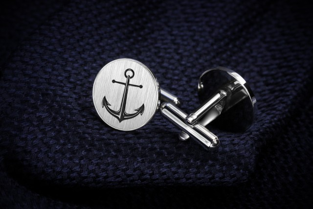 Round Anchor Cufflinks