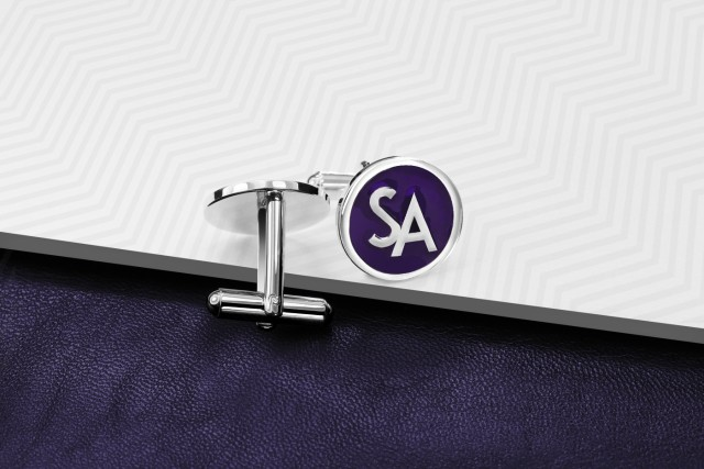 Personalized cufflinks - Crossed Arrows